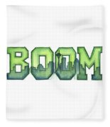 Legion Of Boom Fleece Blanket