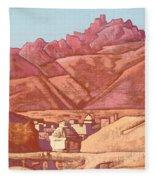 Leh, Ladakh Fleece Blanket