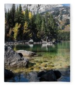 Leigh Lake Cove Fleece Blanket