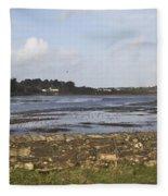 Lelant Water Hayle Estuary Fleece Blanket