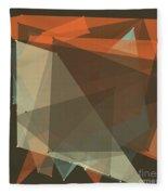 Lemans Polygon Pattern Fleece Blanket