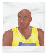 Lemar Odom Fleece Blanket