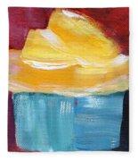 Lemon Cupcake- Art By Linda Woods Fleece Blanket