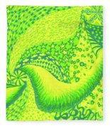 Lemon Lime Fleece Blanket