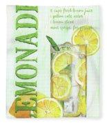 Lemonade Fleece Blanket