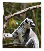 Lemur Love Fleece Blanket