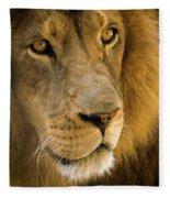 Leo The Lion Fleece Blanket