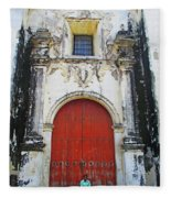 Leon Cathedral 9 Fleece Blanket