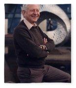 Leon Lederman, American Physicist Fleece Blanket