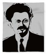 Trotsky Fleece Blanket