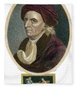 Leonhard Euler, 1707-1783 Fleece Blanket