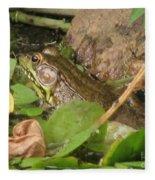 Leopard Frog Fleece Blanket