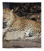 Leopard Relaxing Fleece Blanket
