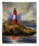 Les Eclaireurs Lighthouse Fleece Blanket