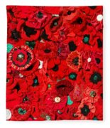 Lest We Forget Fleece Blanket