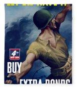Let Em Have It - Buy Extra Bonds Fleece Blanket