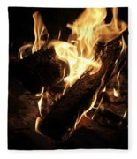 Let It Burn Fleece Blanket