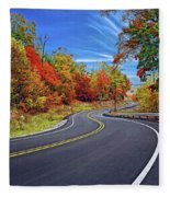 Let It Roll - Pennsylvania Fleece Blanket