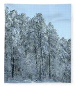 Let It Snow 3 Fleece Blanket