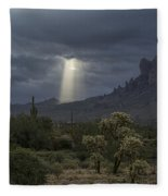 Let There Be Light  Fleece Blanket