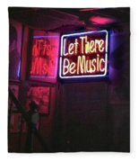 Let There Be Music Fleece Blanket