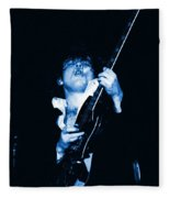Let There Be Rock And Blues Fleece Blanket