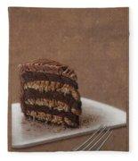 Let Us Eat Cake Fleece Blanket