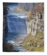 Letchworth Middle Falls Fleece Blanket