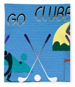 Let's Go Clubbing Fleece Blanket