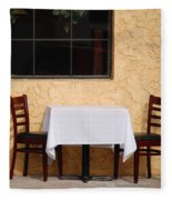 Lets Have Lunch Together Fleece Blanket