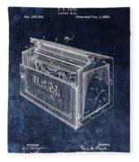 Letter Box Patent Fleece Blanket