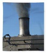 Letting Off Some Steam Fleece Blanket