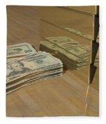 Level One Money Manifestation  Fleece Blanket