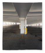 Levels Of A Parking Structure Fleece Blanket