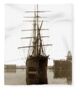 Levi G. Bururgess Bark  Circa 1903 Fleece Blanket