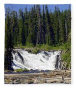 Lewis Falls Fleece Blanket