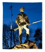 Lexington Minuteman Fleece Blanket