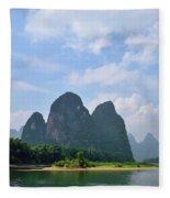 Li River Fleece Blanket