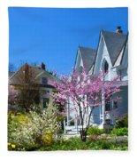 Liberty Carpenter Gothic Fleece Blanket