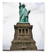 Liberty Enlightening The World Fleece Blanket