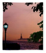 Liberty Fading Seascape Fleece Blanket