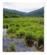 Liberty Marsh Fleece Blanket
