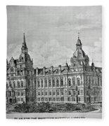 Library Of Congress Proposal 4 Fleece Blanket