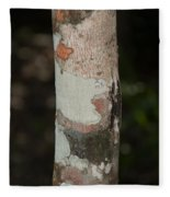 Lichen On The Trees At The Coba Ruins  Fleece Blanket