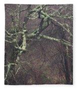Lichen Fleece Blanket