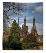 Lichfield Cathedral Fleece Blanket