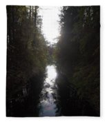 Liesijoki 1 Fleece Blanket