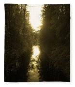 Liesijoki 3 Fleece Blanket