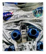 Lieutenant General Thomas P. Stafford  V6 Fleece Blanket