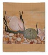 Life In The Sea Fleece Blanket